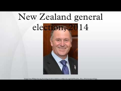New Zealand general election, 2014