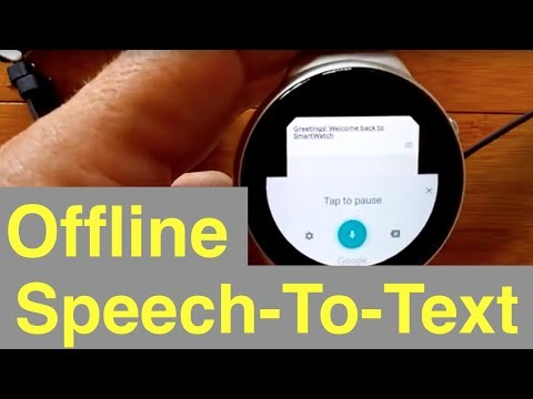 Part 1: Offline Speech-To-Text On Android Smartwatches