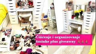 Organizovanje sminke i ciscenje