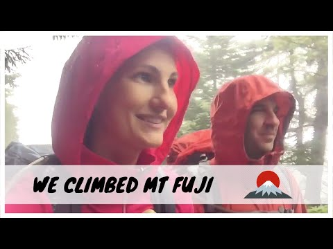 WE CLIMBED MOUNT FUJI!!!  Watch our journey