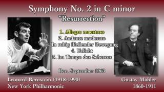 "Baixar Mahler: Symphony No. 2 ""Resurrection"", Bernstein & NYP (1963) マーラー 交響曲第2番 バーンスタイン"