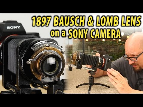 Crazy 1897 Lens Hack for Sony Cameras!