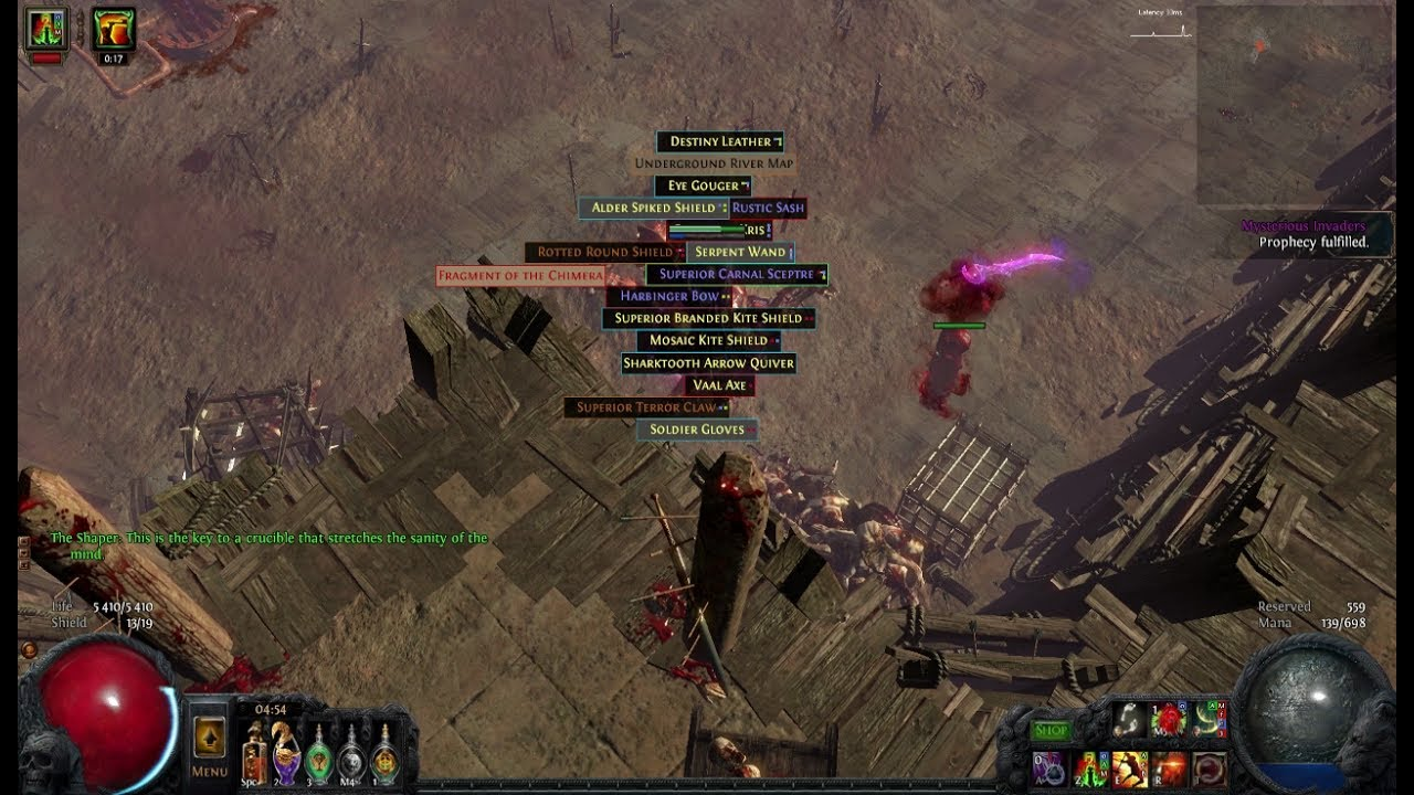 Lacerate Slayer Build Poe