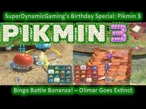 SuperDynamicGaming's 14th Birthday Special - Pikmin 3 - Olimar Goes Extinct