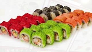 Фотосъёмка меню японской кухни TOKI SUSHI