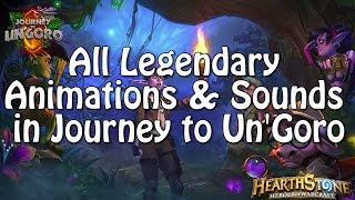 All Legendary Animations and Sounds in Journey to Un