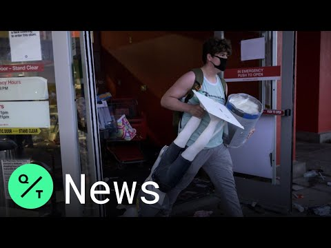 Target Store Looted In Minneapolis Near George Floyd Protest