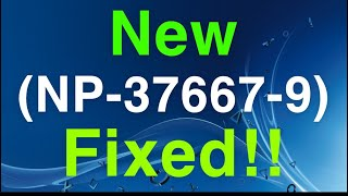 PS4 (NP-37667-9) Share Play Error Easy FIX!