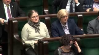 Sejmograf – Jak Krystyna Pawłowicz aplikację karmiła... – Świat się kręci