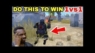 TRY THIS TECHNIQUE TO WIN EVERY 1vs1 • PUBG MOBILE GAMEPLAY
