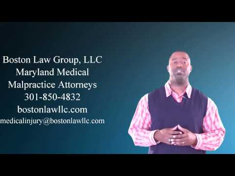 Maryland Attorney For Medical Malpractice Claim