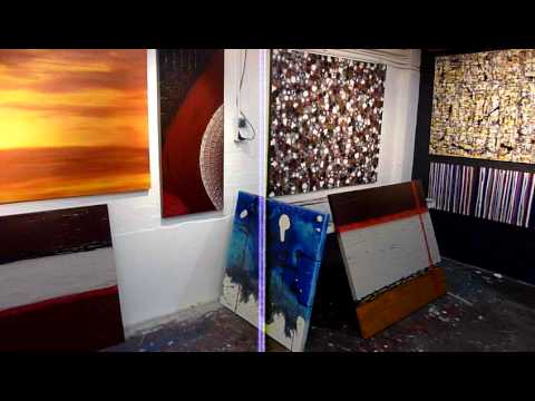 Diy art lessons learn to paint abstract modern wall art for Diy contemporary art