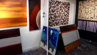 Diy Art Lessons- Learn To Paint Abstract ,modern Wall Art