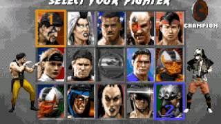 Mortal kombat 3 - Two players - Sega megadriver genesis (Gameplay)