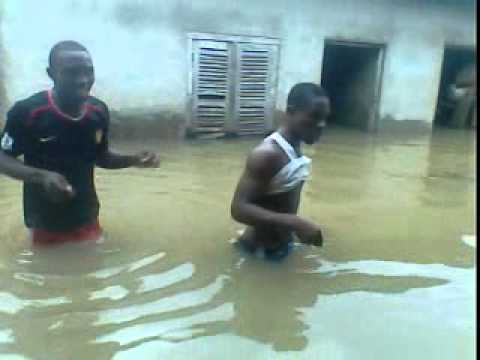 flood in atani campus of Federal poly oko