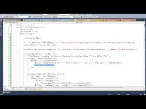 HTML WebSockets - FileAPI - Send BLOBs