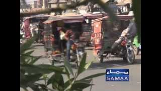 Motor Cycle Rickshaw - by Tauseef Sabih