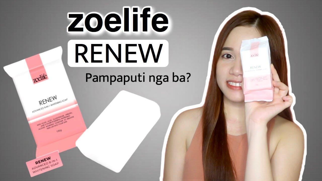 ZOELIFE RENEW ADVANCED 8IN1 WHITENING SOAP (HONEST REVIEW)    HELLO GLOWY SKIN!