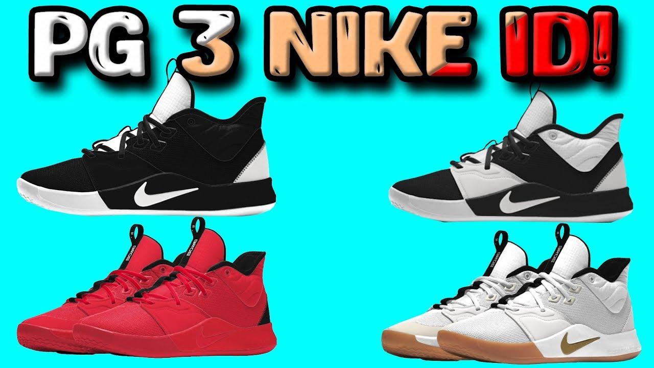 Designing the Nike PG 3 on NIKE ID!