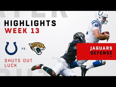Jags Defense Shuts Out Andrew Luck & the Colts