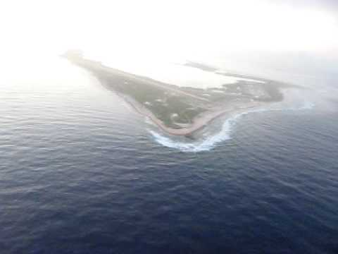 Wake Island in the North Pacific from the air #1