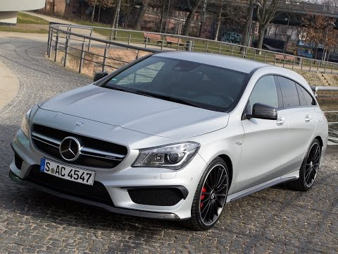 Mercedes CLA 45 AMG Shooting Brake: Test 2015 - Fahrbericht