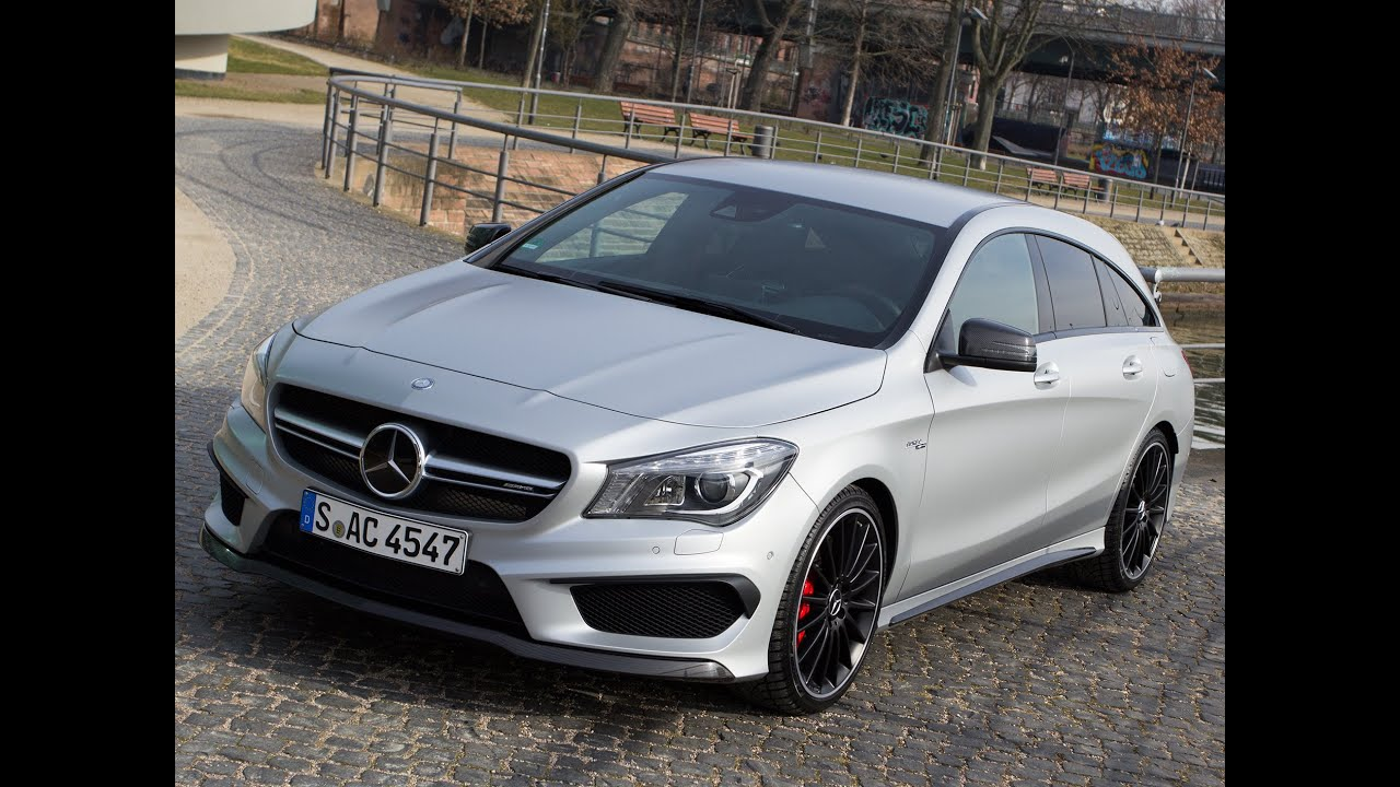 mercedes cla 45 amg shooting brake test 2015 fahrbericht youtube. Black Bedroom Furniture Sets. Home Design Ideas
