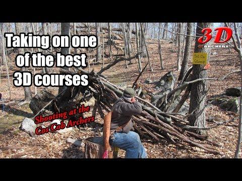 3D Archery - Cos Cob Archers Trad only Course