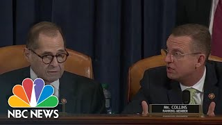 'This Is The Kangaroo Court' Republicans React To Delayed Impeachment Vote | NBC News Video