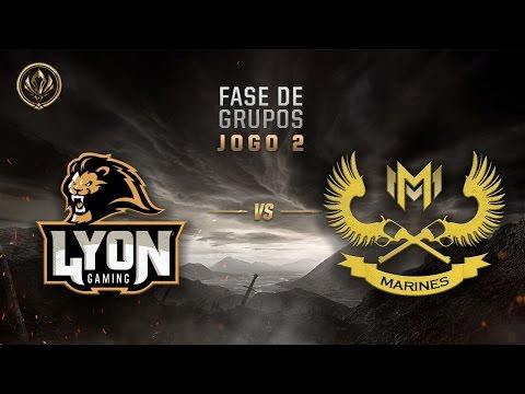 Lyon x Marines (Fase de Entrada - Dia 4) - MSI 2017