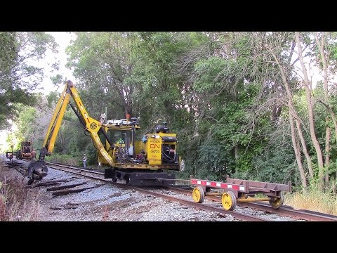 Railfanning Journal: Entry 10 Working On The Railroad Replacing Ties On The Shawano Sub