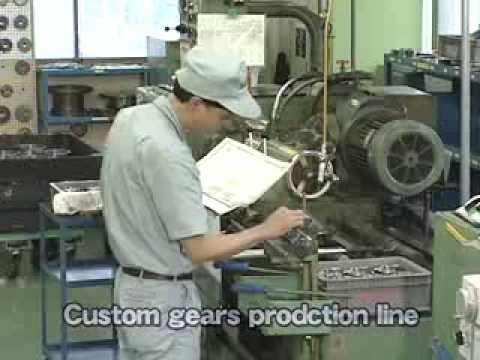 KHK Gears Manufacturing Process