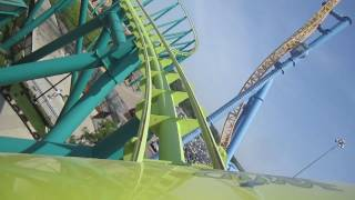 Wild Thing Front Seat on-ride HD POV Valleyfair!