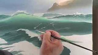 Seascape - art class DVD video - Byron Pickering
