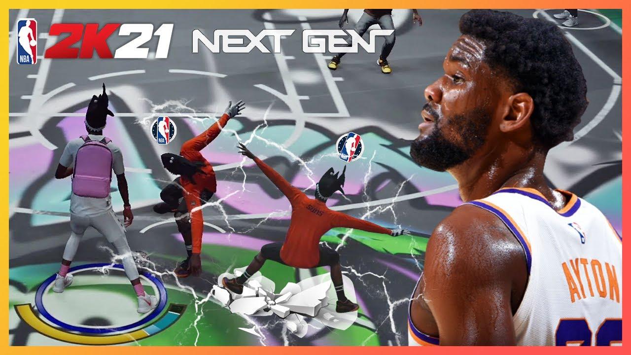 NBA2K21 Next Gen My career Park USA West Phoenix Suns Deandre Ayton  PS5 _ 현진