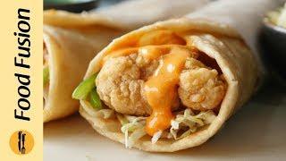 Crispy Chicken Paratha Roll Recipe By Food Fusion (Ramzan Special Recipe)
