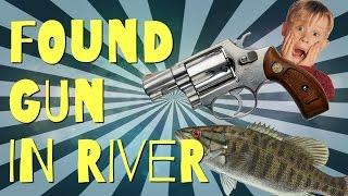 Found a GUN in the River!