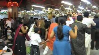 Navaratri 2009 at Divya Dham Temple-Day 8 Part-1