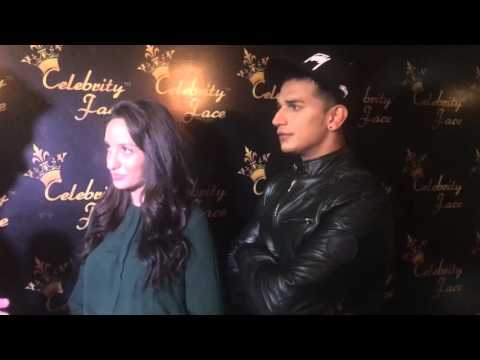 Nora Fatehi and Prince Narula's Interview at Celebrity Face Studio during Celebrity Face Season 36
