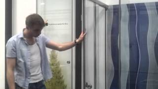 ЮБК - Обзор стеклянных душевых кабин(В данном видео обзоре рассказываем о стеклянных душевых кабинах. Душевые кабины от компании ЮБК отличаются..., 2015-08-06T07:58:14.000Z)