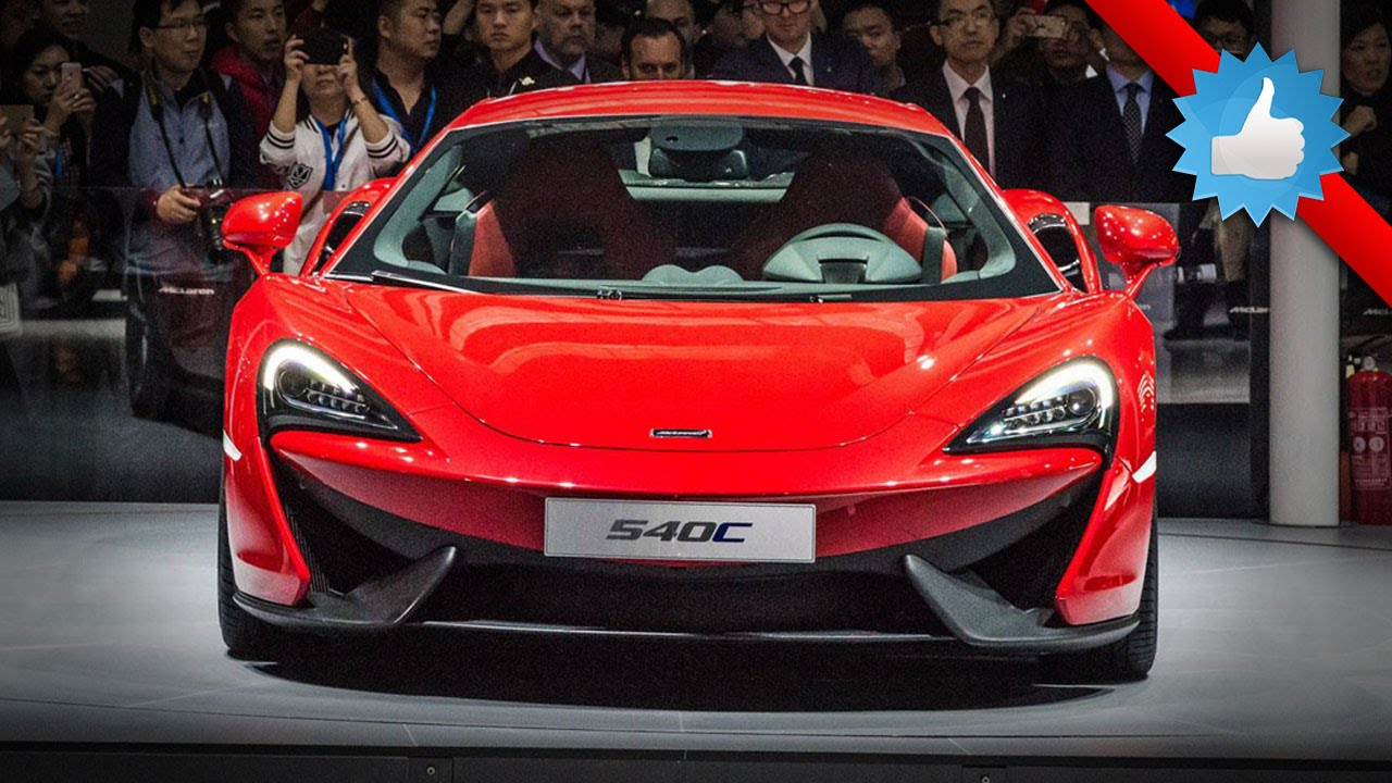2016 McLaren 540C Coupe Sports Series: Shanghai 2015