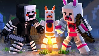 Playing Against Pros (Minecraft Fnaf Roleplay Adventure)