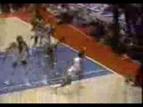 CBS NBA Basketball 1982 Intro With Voiceover