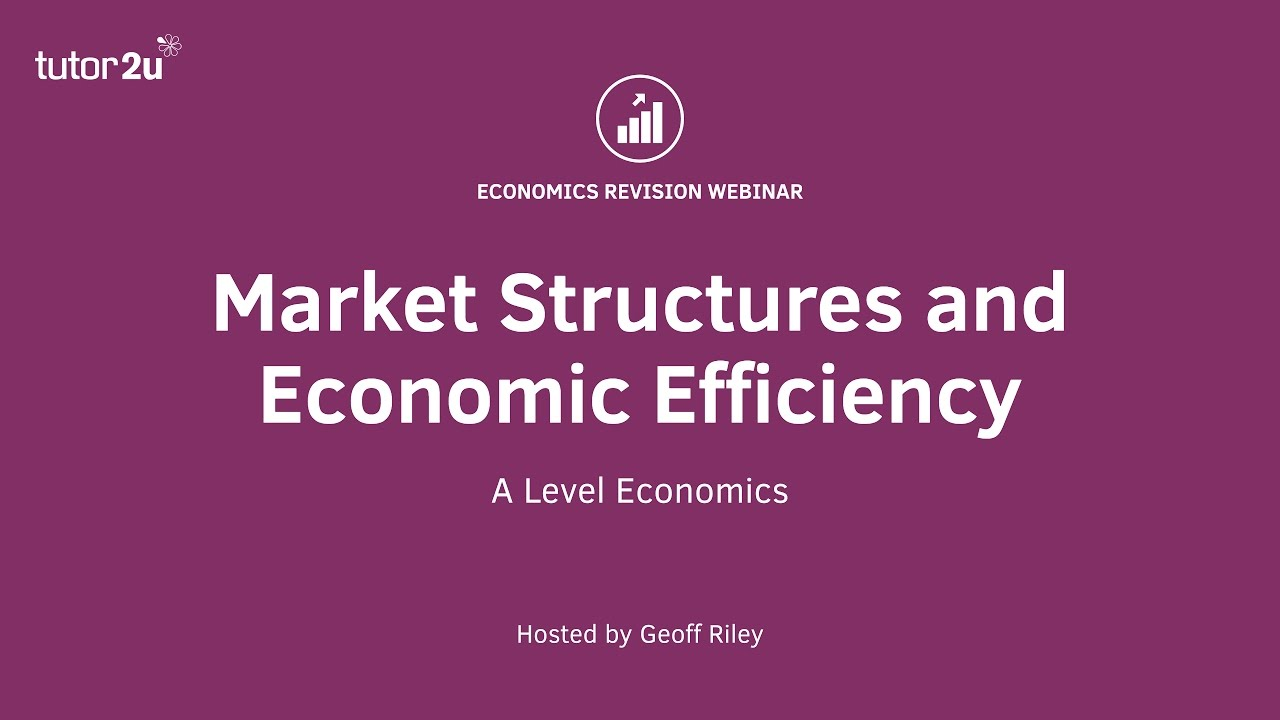 economics market structures Supplementary resources by topic competition and market structures is one of 51 key economics concepts identified by the national council on economic education (ncee) for high school classes.