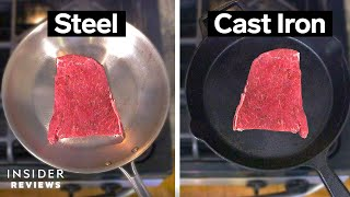 Stainless Steel VS. Cast Iron: Which Should You Buy?