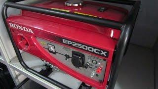 Ремонт и обслуживание Хонда/Honda EP 2500 CX однофазный бензиновый генератор