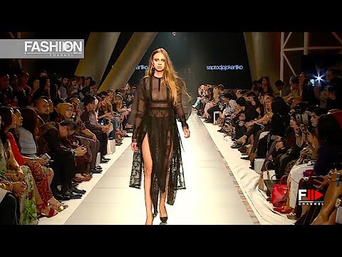 SAPTODJOJOKARTIKO 4th Arab Fashion Week Ready Couture & Resort 2018 - Fashion Channel