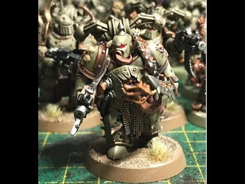 How to paint a - Death Guard Plague Marine (WH40K)