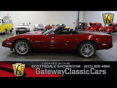 1989 Chevrolet Corvette Gateway Classic Cars of Scottsdale #158