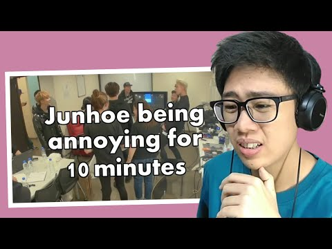 [IKON] JUNHOE BEING ANNOYING FOR 10 MINUTES REACTION